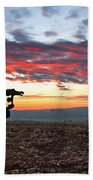 The Iron Horse Early Dawn The Iron Horse Collection Art Bath Towel