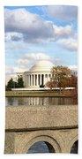 The Jefferson Memorial  Bath Towel