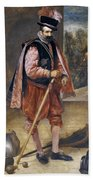 The Jester Named Don John Of Austria Bath Towel