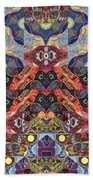The Joy Of Design Mandala Series Puzzle 1 Arrangement 9 Bath Towel