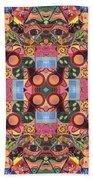 The Joy Of Design Mandala Series Puzzle 2 Arrangement 1 Bath Towel