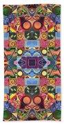 The Joy Of Design Mandala Series Puzzle 2 Arrangement 9 Bath Towel