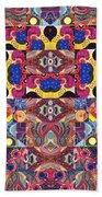 The Joy Of Design Mandala Series Puzzle 3 Arrangement 6 Bath Towel