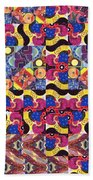 The Joy Of Design Mandala Series Puzzle 3 Arrangement 8 Bath Towel