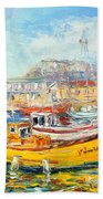 The Kalk Bay Harbour Bath Towel