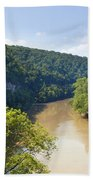 The Kentucky River Bath Towel