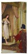 The King And The Beggar-maid Bath Towel