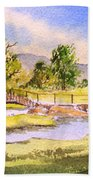 The Lake District - Slater Bridge Bath Towel