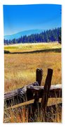 The Land With A View Bath Towel