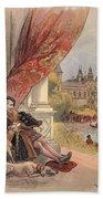 The Last Days Of Francis I Bath Towel