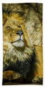 The Lion Bath Towel
