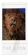 The Lion Poster Bath Towel