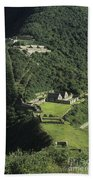 The Lost City Of Choquequirao Bath Towel