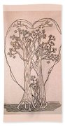 The Love And Celebration Of The Maple Tree Family Bath Towel