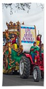 The Lure Of Beads Hand Towel