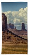 The Majesty Of Monument Valley  Bath Towel