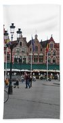 The Markt Bruges Belgium Bath Towel