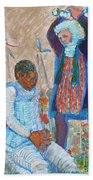 The Martydom Of St Maurice Bath Towel