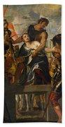 The Martyrdom Of Saint Mena Bath Towel