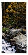 The Merced River Bath Towel