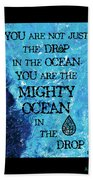 The Mighty Celtic Ocean Hand Towel