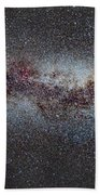 The Milky Way From Scorpio And Antares To Perseus Bath Towel