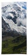 The Monk - Swiss Bernese Alps Bath Towel