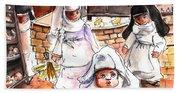 The Nuns Of Toledo 02 Hand Towel
