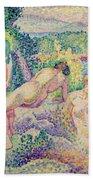 The Nymphs Bath Towel