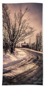 The Old Farm Down The Road Bath Towel