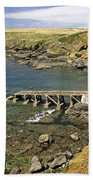 The Old Lizard Lifeboat Station Bath Towel