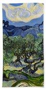 The Olive Tree Bath Towel