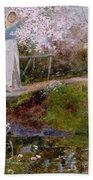 The Orchard Brook  Bath Towel