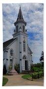 The Painted Churches Bath Towel