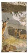 The Pallah, 1804-05 Bath Towel
