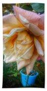 The Peach Rose Bath Towel