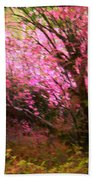 The Pink Forest Bath Towel