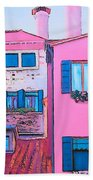The Pink House Hand Towel
