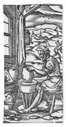 The Potter, 1574 Hand Towel