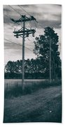 The Power Lines  Hand Towel