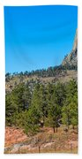 The Realm Of Devils Tower Bath Towel
