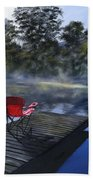 The Red Chair Bath Towel