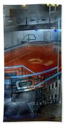The Red Pool Bath Towel