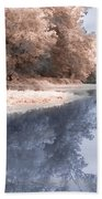 The River - Near Infrared Bath Towel
