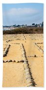 The Rock Maze Santa Barbara Bath Towel