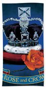 The Rose & Crown Bath Towel