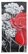 The Rose Hand Towel
