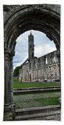 The Ruins Of St Andrews Cathedral Bath Towel