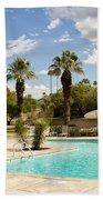 The Sandpiper Pool Palm Desert Bath Towel