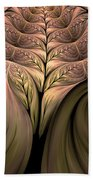 The Secret World Of Plants Abstract Bath Towel
